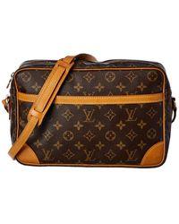 Louis Vuitton Monogram Canvas Trocadero 30 - Brown
