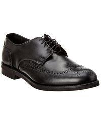 Allen Edmonds Nomad Wing Leather Oxford - Black