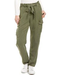 Young Fabulous & Broke Natalie Linen-blend Pant - Green