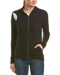 Chaser Cutout Hoodie - Black