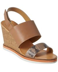 Dolce Vita Lanaya Wedge Sandal - Brown