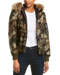 Sam. Camo Jenny Jacket - Multicolour