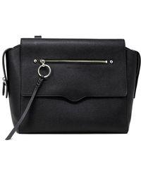 Rebecca Minkoff - Messenger Leather Backpack - Lyst