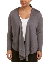 NIC+ZOE - Plus Paired Up Silk-blend Cardy - Lyst