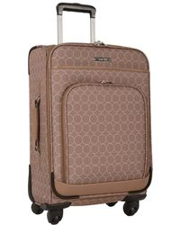 """Nine West Ninewest 24"""" Expandable Spinner Luggage - Brown"""