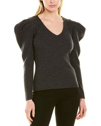 MILLY Isabella Wool Jumper - Grey