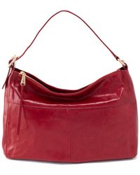 Hobo International Quincy Leather Bag - Red