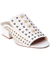 Kenneth Cole - New York Farley Leather Sandal - Lyst