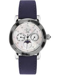 Gv2 Moon Valley Diamond Watch - Metallic