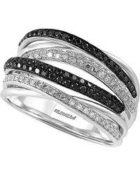 Effy - Fine Jewellery 14k 0.56 Ct. Tw. Diamond Ring - Lyst