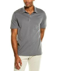 Theory Bron B.air Pique1 Polo Shirt - Grey