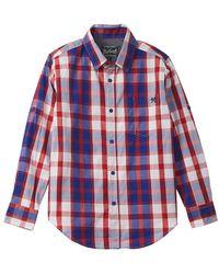 Woolrich - Woven Shirt - Lyst