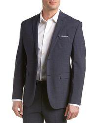 Original Penguin Wool-blend Jacket - Blue