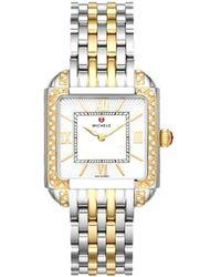 Michele Milou Diamond Watch - Metallic