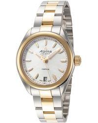 Alpina Comtesse Watch - Metallic