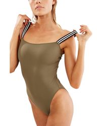 Solid & Striped The Riley One-piece - Green