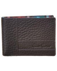 Robert Graham Ferry Leather Wallet - Black