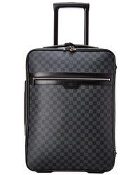 Louis Vuitton Damier Graphite Canvas Pegase 55 - Multicolour