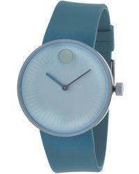 Movado Women's Rubber Watch - Blue