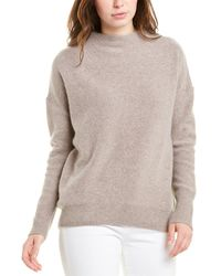 Magaschoni Funnel Neck Cashmere Jumper - Grey