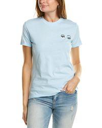Chiara Ferragni Flirting T-shirt - Blue