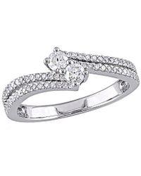 Rina Limor 14k 0.48 Ct. Tw. Diamond Ring - Metallic