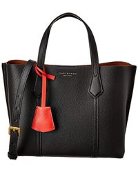 Tory Burch - Perry Small Colorblock Tote Bag - Lyst