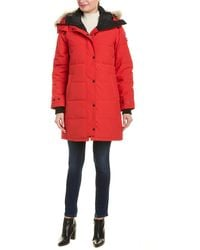 Canada Goose Shelburne Down Parka - Red