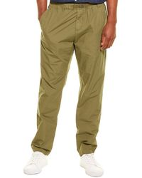 Woolrich Papery Popeline Pant - Green