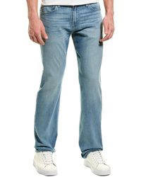 7 For All Mankind 7 For All Mankind Standard Beau Straight Leg - Blue