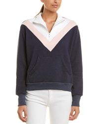Wildfox Soto Warm-up Pullover - Blue