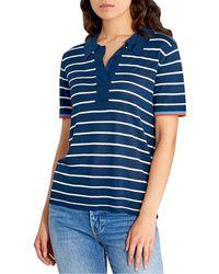 Kule Ollie Polo T-shirt - Blue