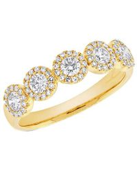 Diana M. Jewels - . Fine Jewelry 14k 0.70 Ct. Tw. Diamond Ring - Lyst
