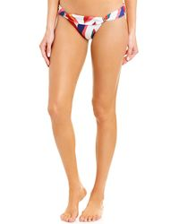 ViX Guana Bia Tube Bikini Bottom - Red