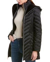 Laundry by Shelli Segal - Lightweight Puffer Coat - Lyst
