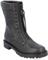 Dior Leather Boot - Black