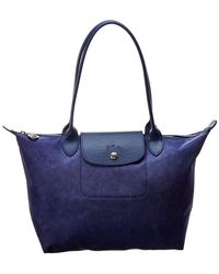 Longchamp - Le Pliage Neo Small Canvas Long Handle Tote - Lyst