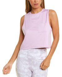 Threads For Thought Threads 4 Thought Rochelle Crop Tank - Purple