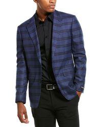 Bonobos Fashion Jetsetter Slim Fit Wool-blend Blazer - Blue