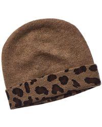 Forte - Leopard Hat - Lyst