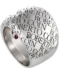 Roberto Coin 18k Ring - Metallic