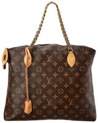 Louis Vuitton Monogram Canvas Lockit Chain - Brown