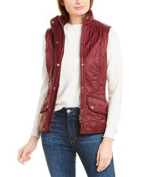 Barbour Cavalry Quilted Vest - Brown