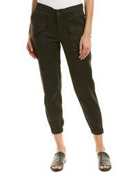 James Perse Zippered Linen-blend Pant - Multicolor