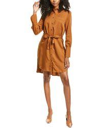 Habitual Rae Shirtdress - Brown