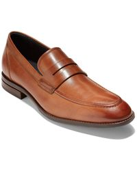 Cole Haan Benton Penny Loafer - Brown