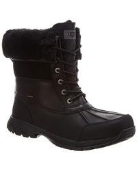 UGG Men's Waterproof Butte Boots - Black