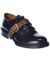 Valentino Valentino Garavani Leather Derby Shoe - Black