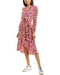 Diane von Furstenberg Carla Two Silk Crepe De Chine Wrap Dress - Multicolor