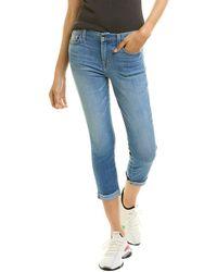 Jen7 Laquinta Cropped Skinny Jean - Blue